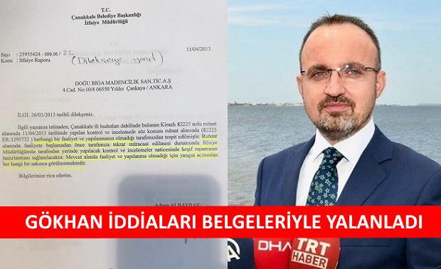 Bülent Turan'a Gökhan'dan Belgeli Yanıt