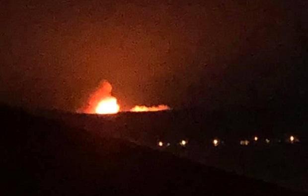 Gelibolu Yarımadasında Korkutan Orman Yangını