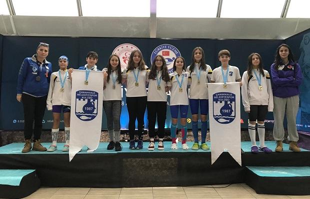 Türkiye Şampiyonası'ndan 9 Madalya ile Döndüler