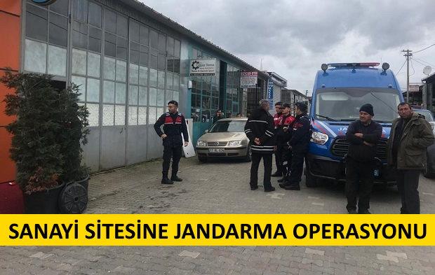 Sanayi'de Jandarma Operasyonu