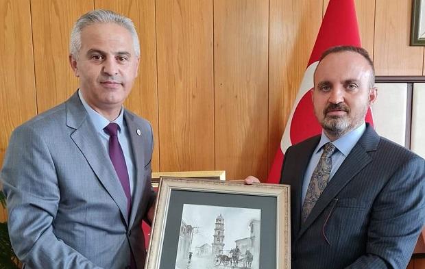 Çanakkale Barosu Yeni Yönetimi Ankara'da..