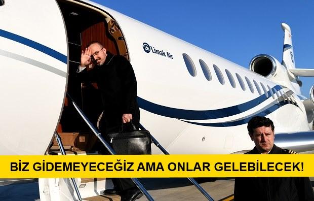 """Turan: """"Gaziantep ve Çanakkale Uçak Seferleri Başlıyor"""""""