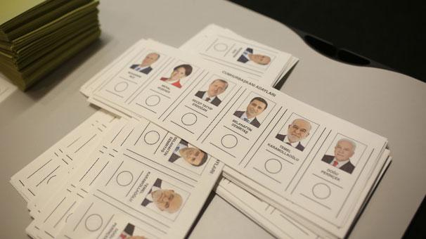 Oy Verme İşlemi Az Önce Sona Erdi