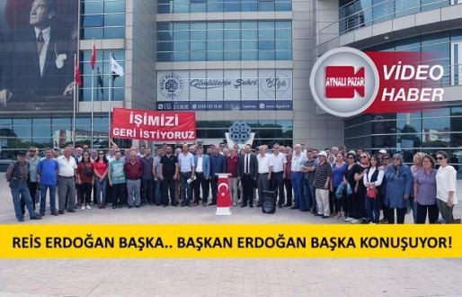 AK Partili Biga Belediyesinin İşçi Kıyımı Eyleme Dönüştü