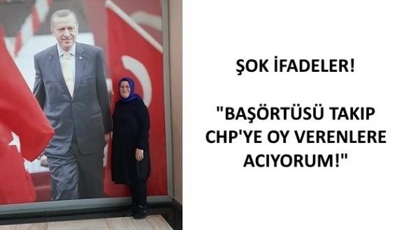 AK Partili Yönetici Baş Örtülüleri Suçladı!