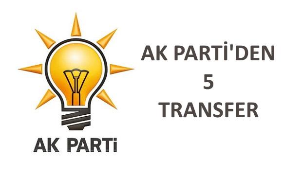2 Bağımsız, 1 CHP, 1 İYİ Partili, 1 SP'li Belediye..
