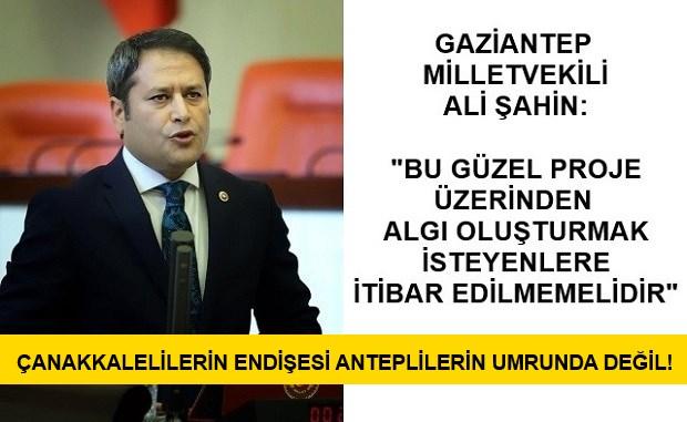 AK Partili Vekil Çanakkalelilerin Endişesini Anlamadı..