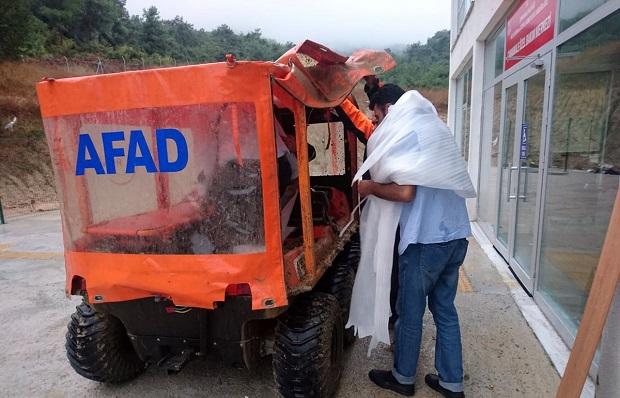 Görme Engelli Vatandaşları AFAD Kurtardı