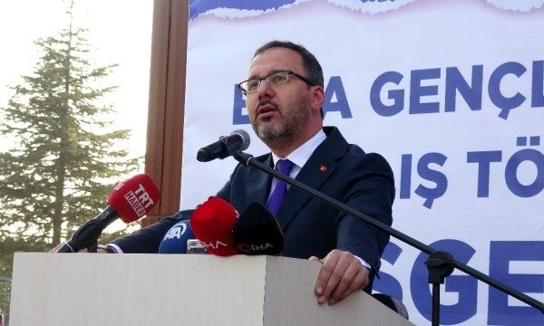 Bakan Kasapoğlu'ndan Çanakkale'ye Müjde