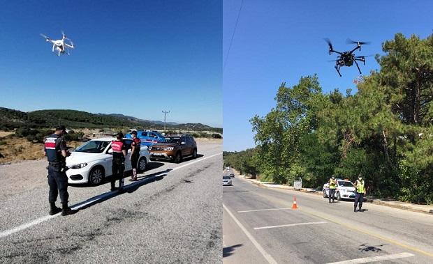 Drone'lu Trafik Denetimlerinde Ceza Yağdı