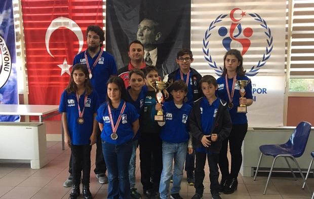 29 Ekim Kupası'na Belediyespor Damgası: 2 Kupa, 4 Madalya