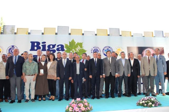 Biga Gıda Tarım Hayvancılık ve Teknolojiler Fuarı Törenle Açıldı
