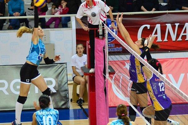 'Kupa Voley' İlk Maçında Çanakkale Belediyespor Rüzgarı