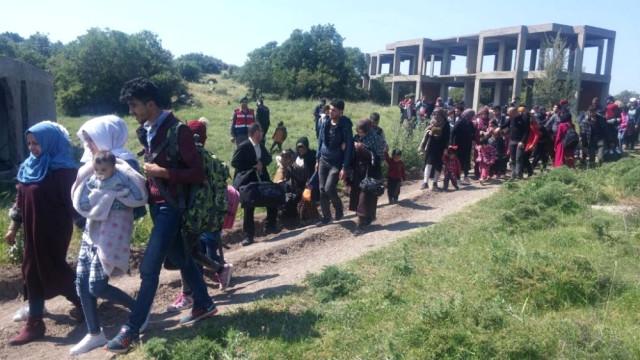 Bir Haftada 312 Mülteci Yakalandı