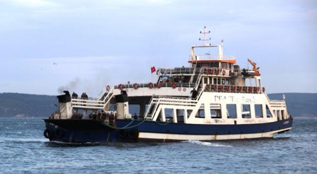 Adalara Ulaşıma Fırtına Engeli