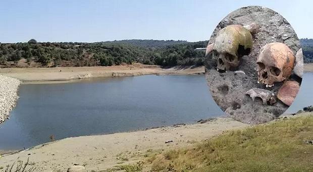 Gölette Korkutan Keşif.. 4 Kafatası ve Onlarca Kemik..
