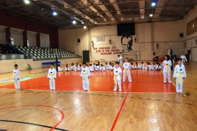 Çanakkale'de Taekwondocular Ter Döktü