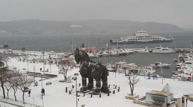 Meteoroloji'den Çanakkale'ye Kar Uyarısı