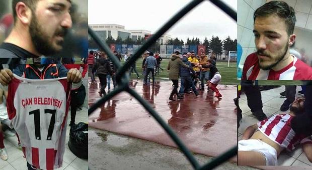 Maç Sonucunu Hazmedemediler.. Futbolculara Saldırdılar