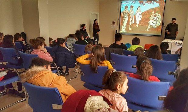Çocuk Kültür Evi'nde Troya Masalı