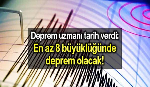 Deprem Tahmincisi: