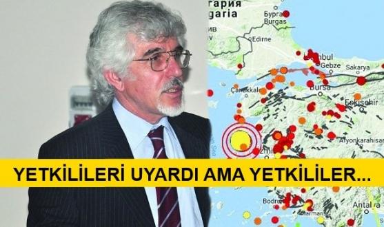 Deprem'den Tam 30 Dakika Önce Uyardı!