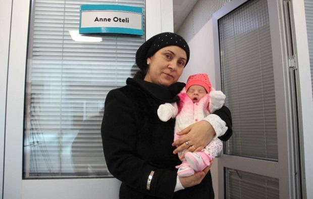 Yeni Doğum Yapanlara 'Anne Oteli' Hizmeti