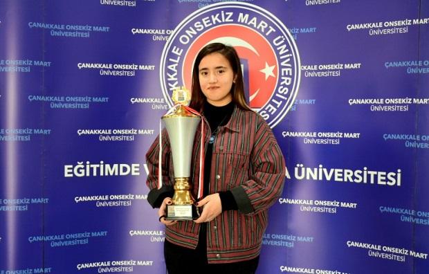 Hayali: ÇOMÜ'yü ve Türkiye'yi Olimpiyatlarda Temsil Etmek