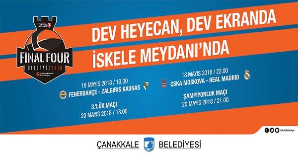 Euroleague Heyecanı Dev Ekranda..