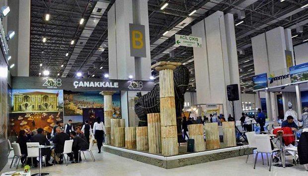 Çanakkale, Travel Turkey İzmir Fuarı'nda Güçlü Bir Şekilde Tanıtıldı