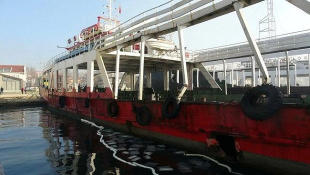 Kaptan Uyuyunca.. Balıkçı Teknesi Feribota Çarptı!