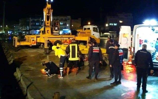 Beton Blokların Arasında Kalan İşçi Öldü