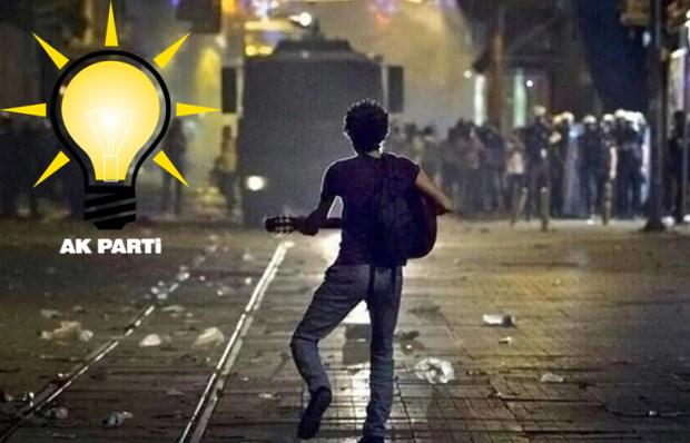 AK Partili Yöneticiden Gezi'ye Destek!
