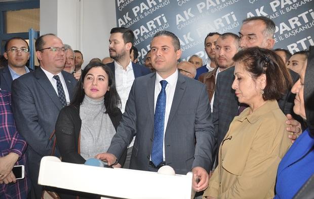 """Yıldız """"Hedef Çanakkale Belediyesi"""""""