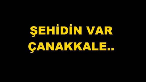 Kayıp Askerin Şehit Haberi Çanakkale'yi Yasa Boğdu