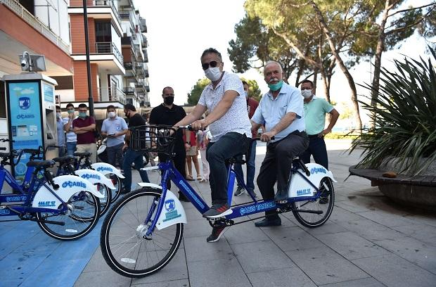 Tandem Bisikletler Hizmette…