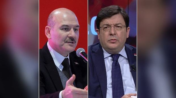 Süleyman Soylu'dan Muharrem Erkek'e Suç Duyurusu