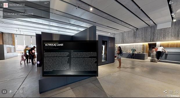 Oturduğunuz Yerden Troya Müzesini Gezebileceksiniz!