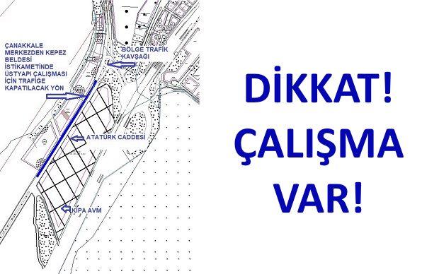 Atatürk Caddesinin Devamında Çalışma Yapılacak