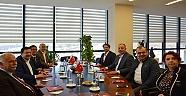CHP Heyetinden ÇTSO Yönetim Kurulu'na Ziyaret