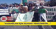Komitesiz Kazdağları Mitingi: