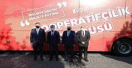 Kooperatifçilik Otobüsü Çanakkale'deydi..