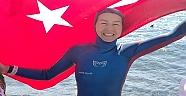 Milli Sporcu Birgül Erken, Guinness Rekoru'nu Kırdı