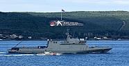Savaş Gemileri Tatbikat İçin Çanakkale'de..