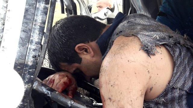 Traktör Minibüsle Çarpıştı: 17 Yaralı
