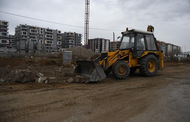 Kentsel Gelişim Bölgesinde Üstyapı Çalışmaları Sürüyor