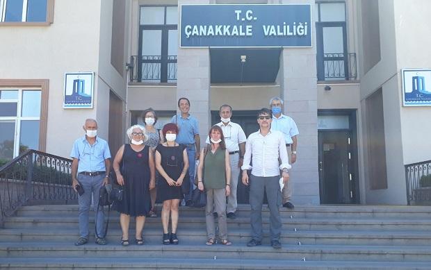 Çevre Örgütleri Vali Aktaş'a Sorunları Aktardı