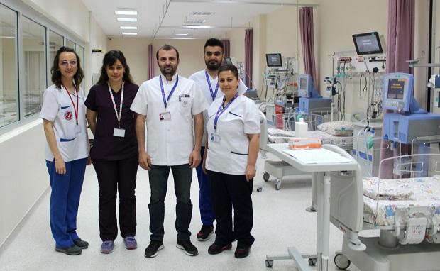 ÇOMÜ Hastanesinde Çocuk Yoğun Bakım Ünitesi Hizmete Girdi