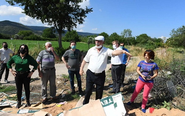 Ülgür Gökhan Baraj Havzasındaki Köyleri Gezdi