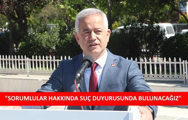 CHP'den Sert Tepki;